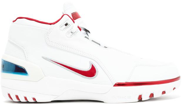 Air Zoom Generation White Varsity Crimson