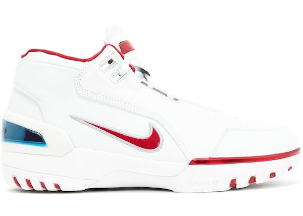 133c47d33 Air Zoom Generation White Varsity Crimson