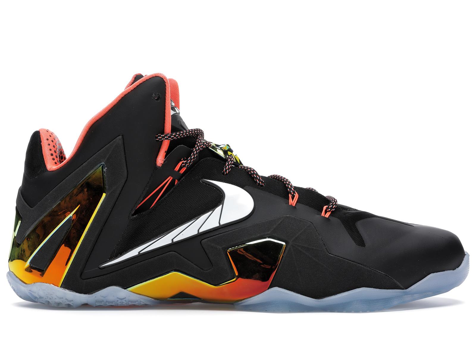 Nike LeBron 11 Elite Black Gold