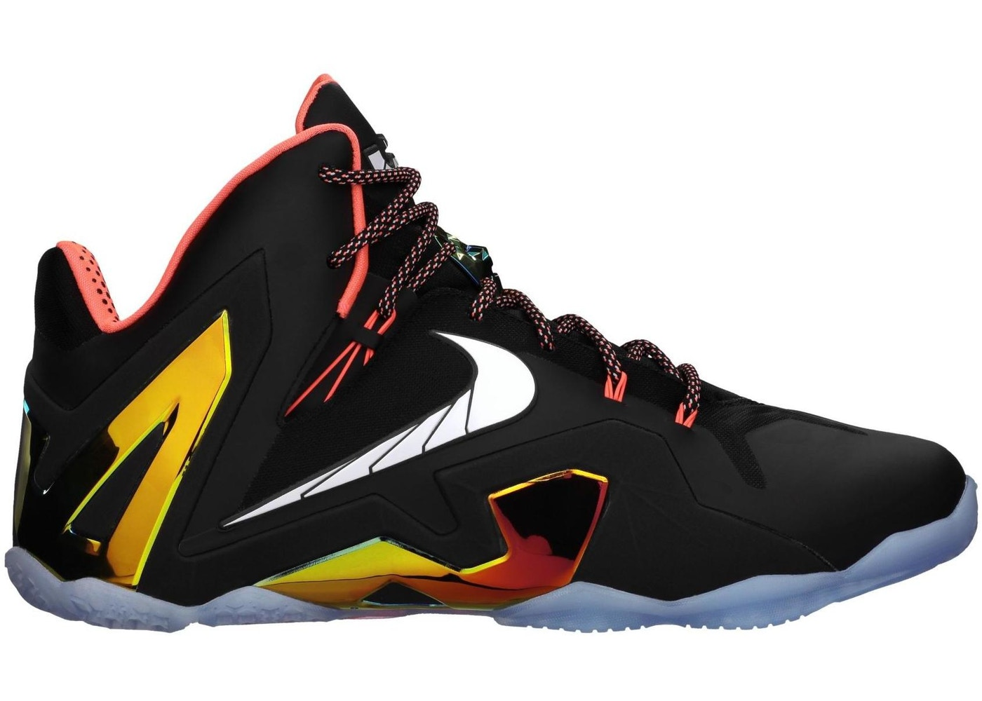 pretty nice e596e 51943 LeBron 11 Elite Black Gold