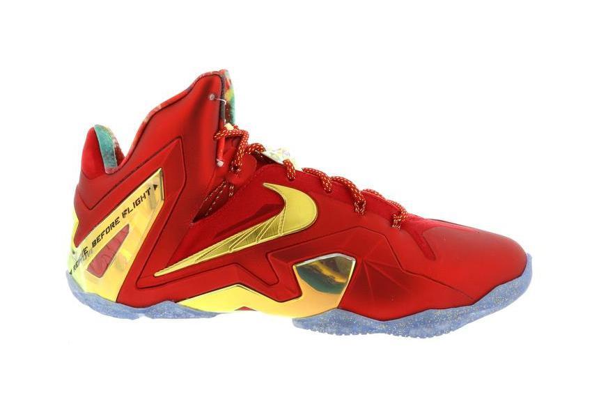 Nike LeBron 11 Elite SE Metallic Gold