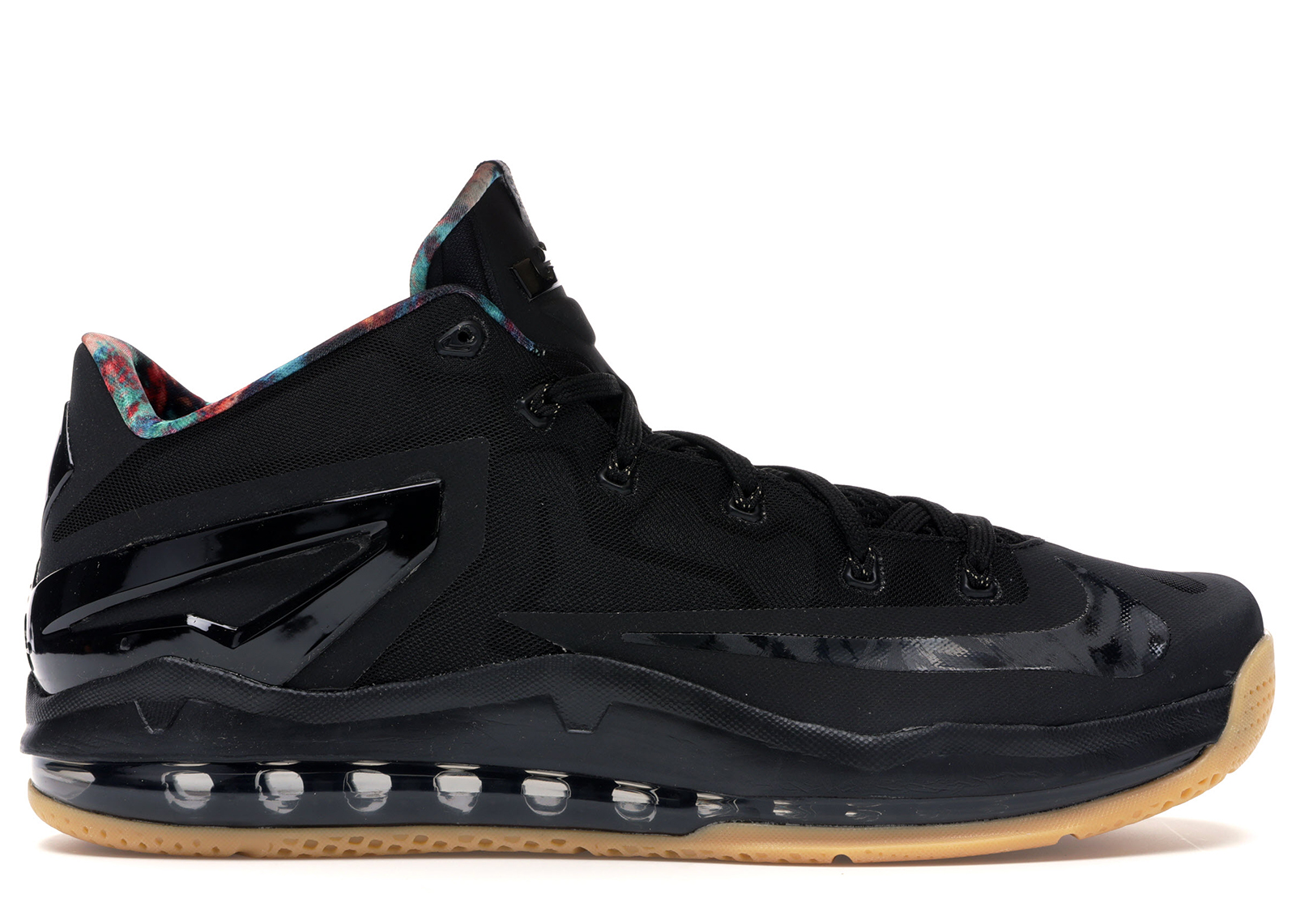 Nike LeBron 11 Low Black Gum - 642849-078