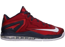 timeless design bb53f c20db LeBron 11 Low Independence Day - 642849-614