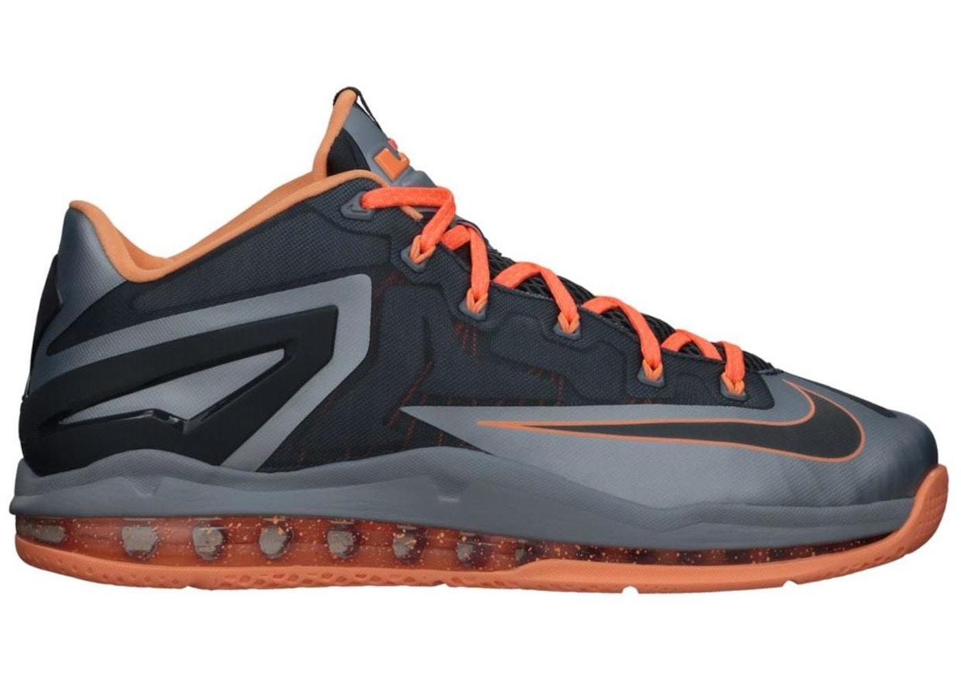 best sneakers 1e163 525fd LeBron 11 Low Magnet Grey