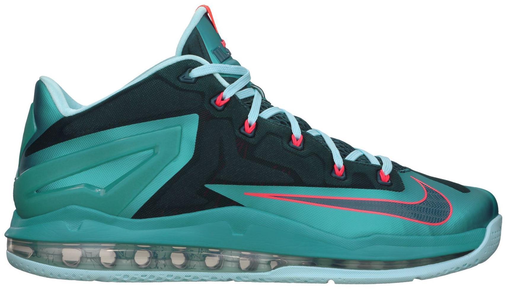 Nike LeBron 11 Low Turbo Green - 642849-300