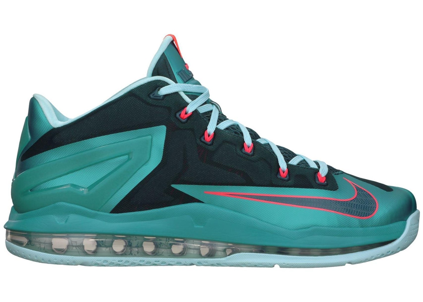 huge selection of 1b24f 82310 LeBron 11 Low Turbo Green