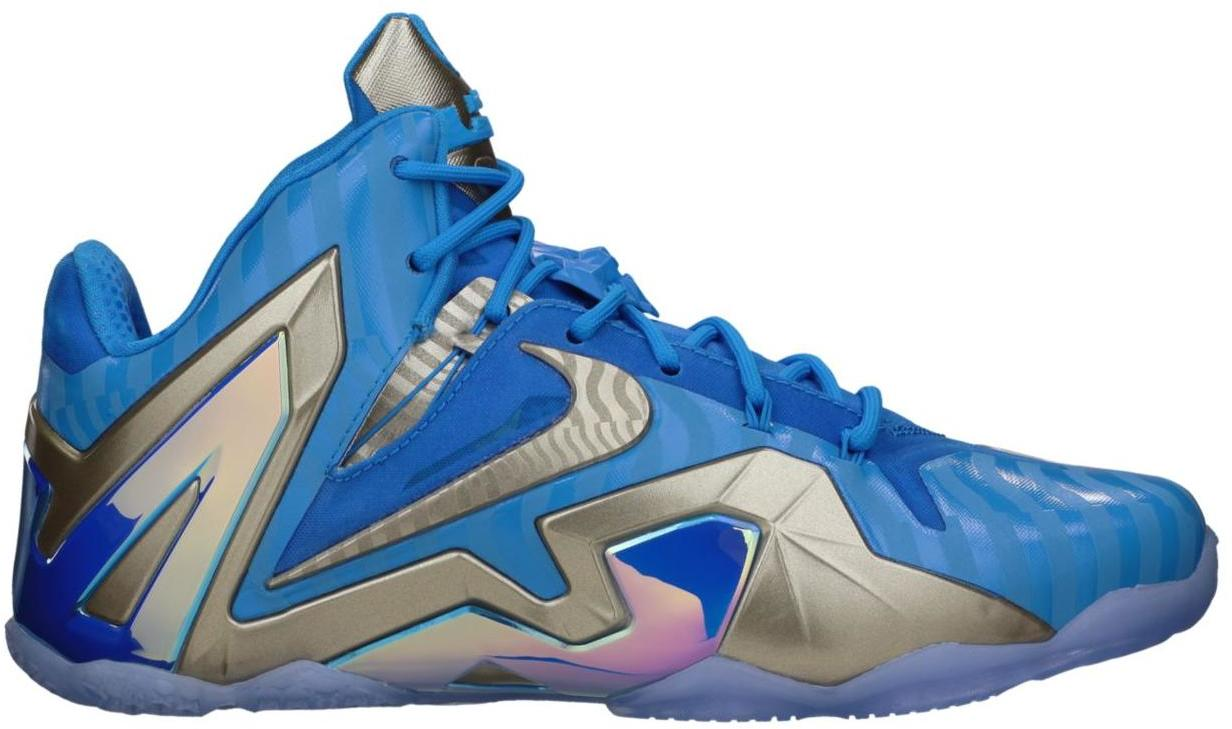 sports shoes b0a46 d171b ... coupon code lebron 11 elite maison 3m blue 682892 404 7b2e3 33d90