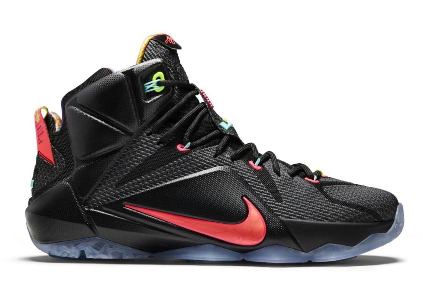 newest 6e58b 173b3 Nike LeBron 12 Shoes - Average Sale Price