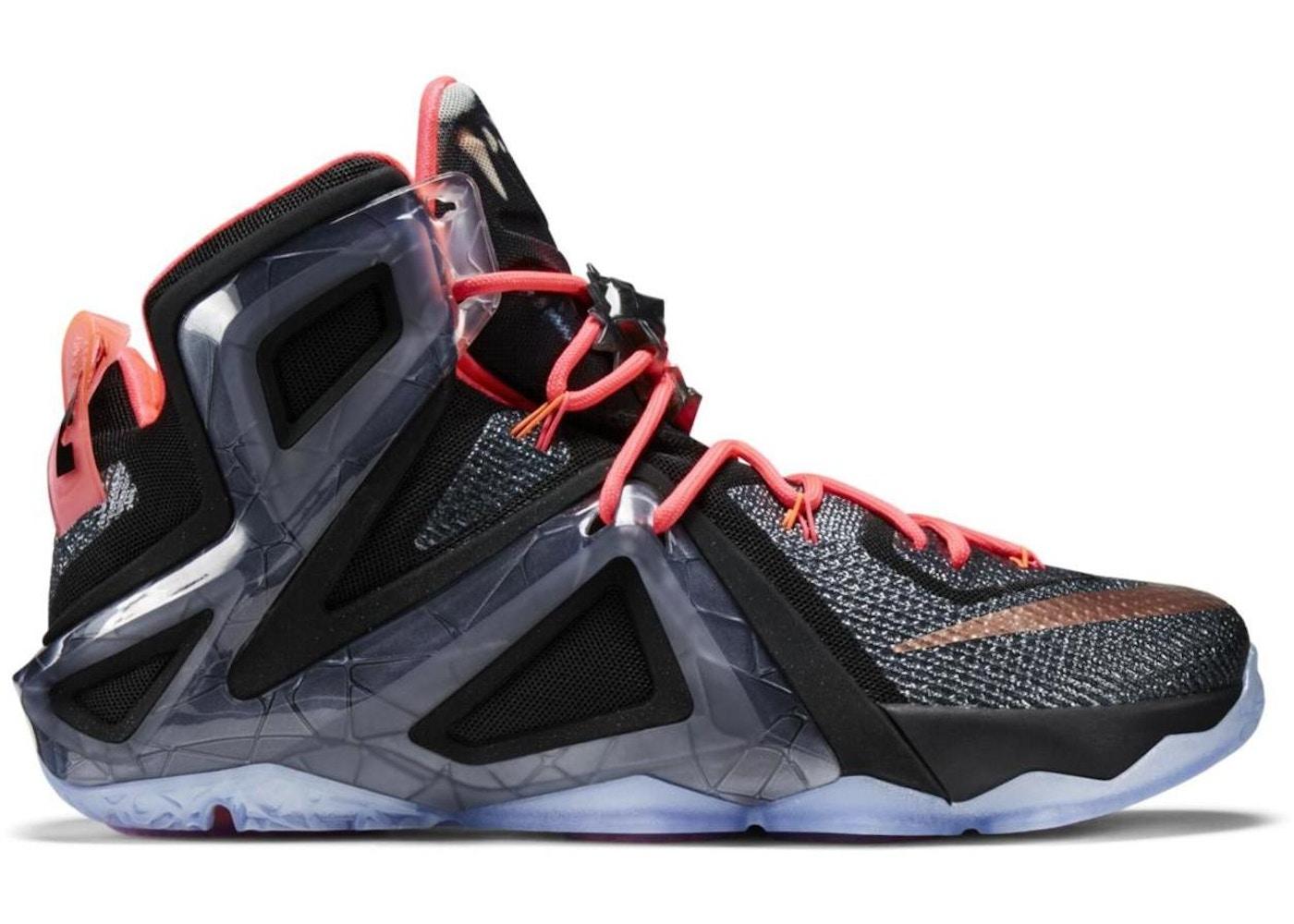 finest selection 98c3e 72635 Nike LeBron 12 Shoes - Last Sale
