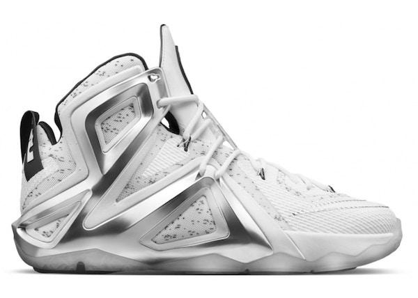 Nike LeBron 12 Shoes - Average Sale Price 6cafe8188d