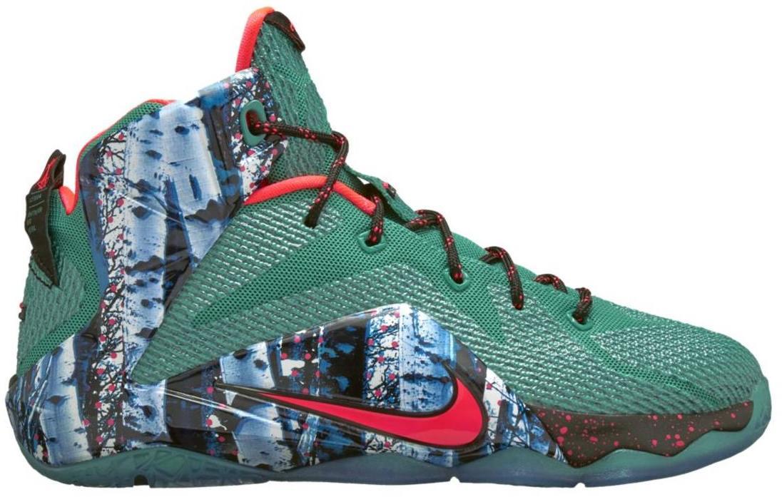 Nike LeBron 12 Akron Birch (GS