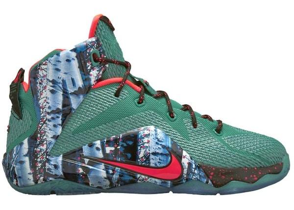235b454f515b Nike LeBron 12 Shoes - Average Sale Price