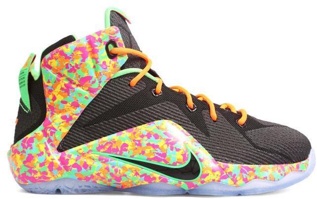 Nike LeBron 12 Fruity Pebbles (GS