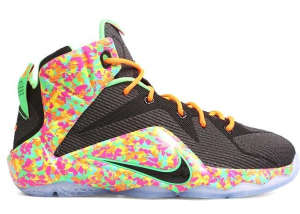Nike LeBron 12 Shoes - Average Sale Price 267e9363b448