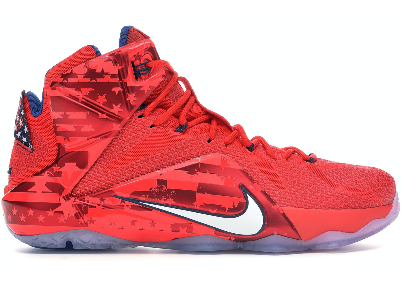 sale retailer cce76 88b14 LeBron 12 Independence Day - 684593-616
