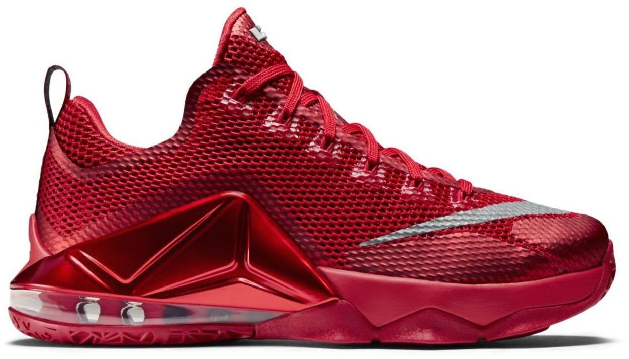LeBron 12 Low University Red