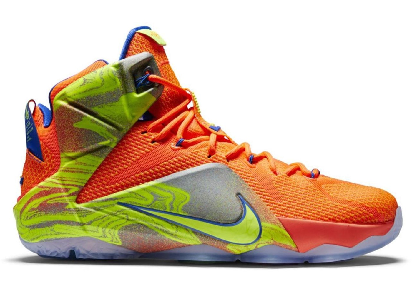 quality design f3518 1bf9e Buy Nike LeBron 12 Shoes  Deadstock Sneakers