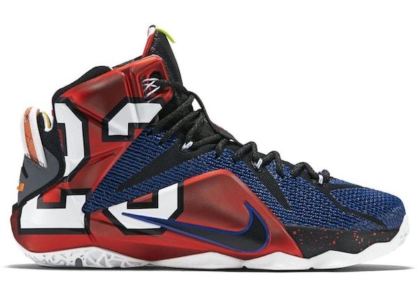 newest a6726 d861f Nike LeBron 12 Shoes - Average Sale Price
