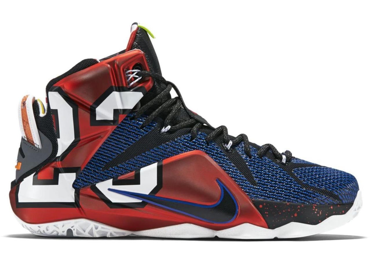 san francisco 14ad7 49a99 LeBron 12 What the LeBron - 802193-909 812511-909
