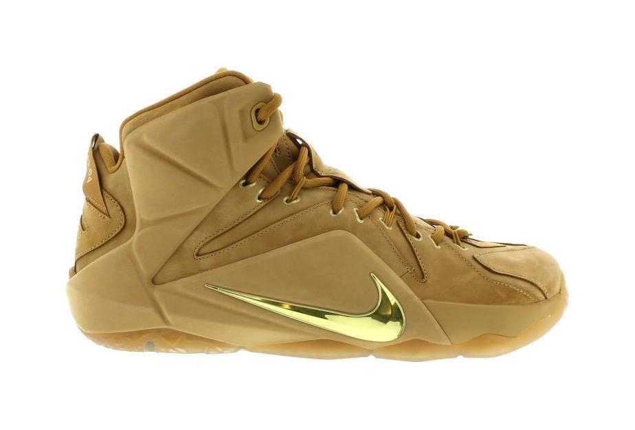 Nike LeBron 12 EXT Wheat - 744287-700