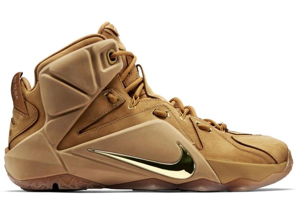 cheap for discount 44485 8832b LeBron 12 EXT Wheat