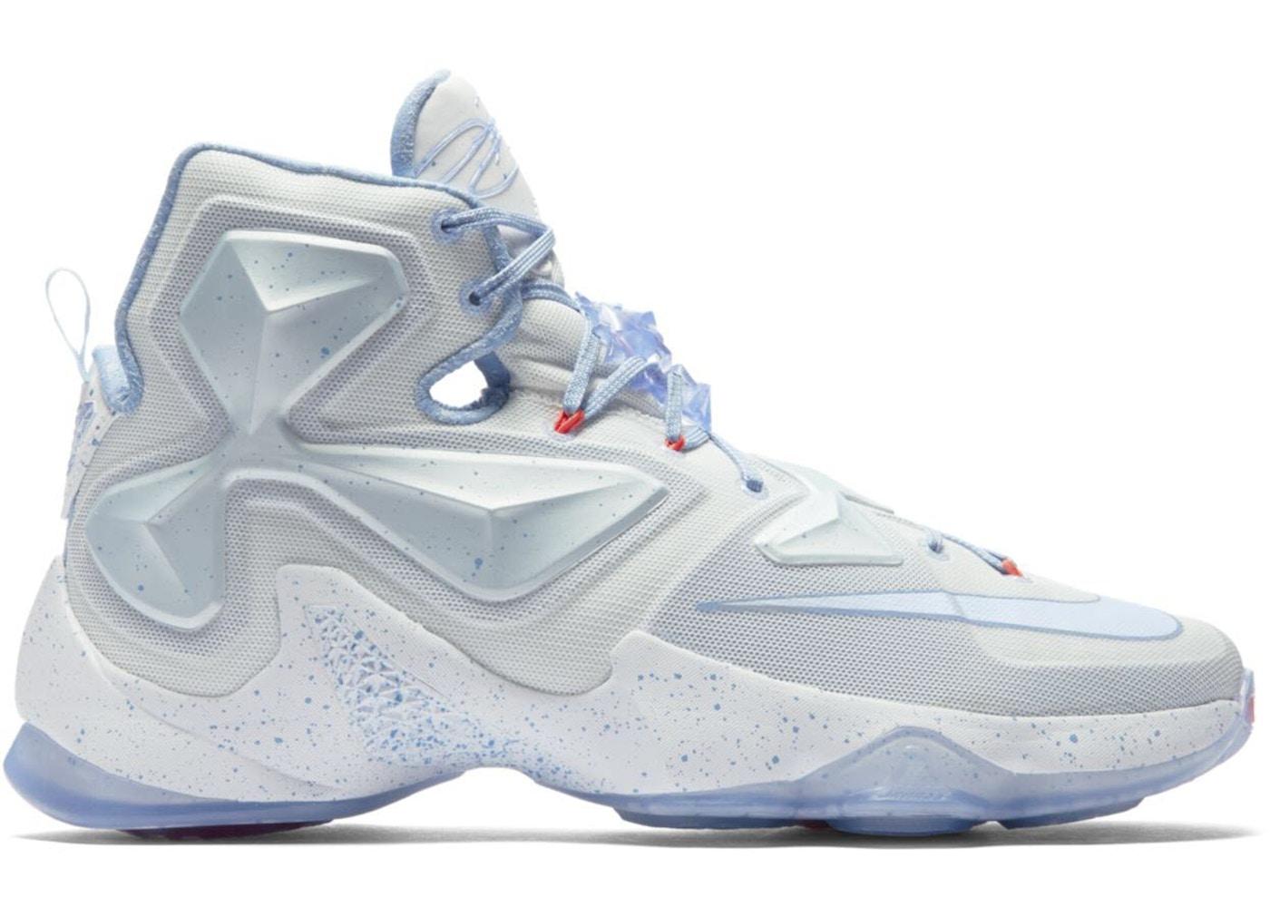 the best attitude 2e64a 6844e Nike LeBron 13 Shoes - Average Sale Price