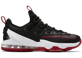 check out 9d6d7 42384 LeBron 13 Low Black Red
