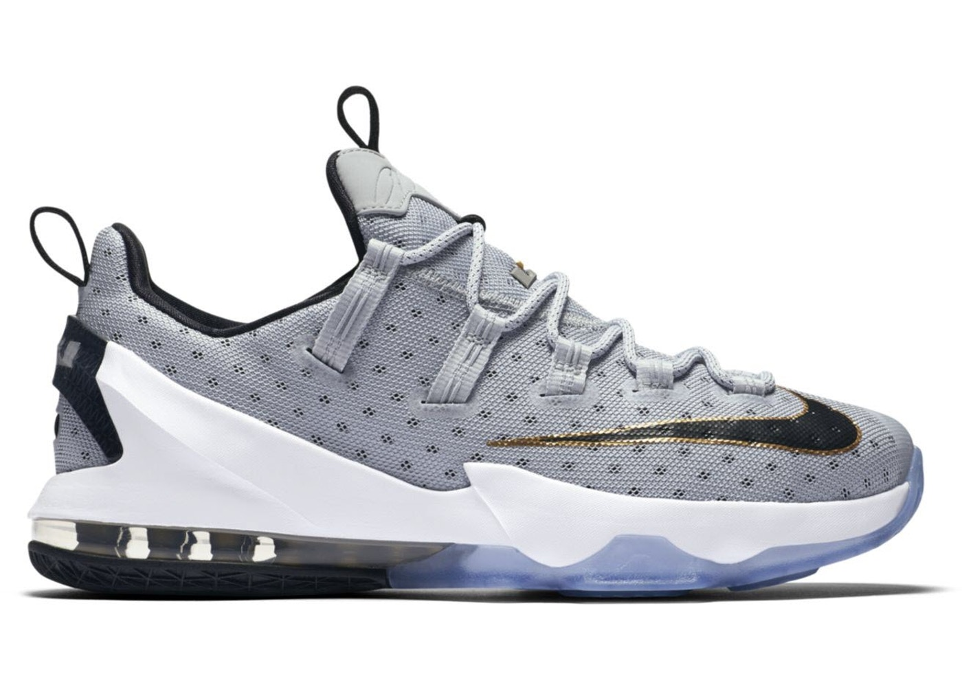 on sale d3fae 78e86 LeBron 13 Low Cool Grey - 831925-071
