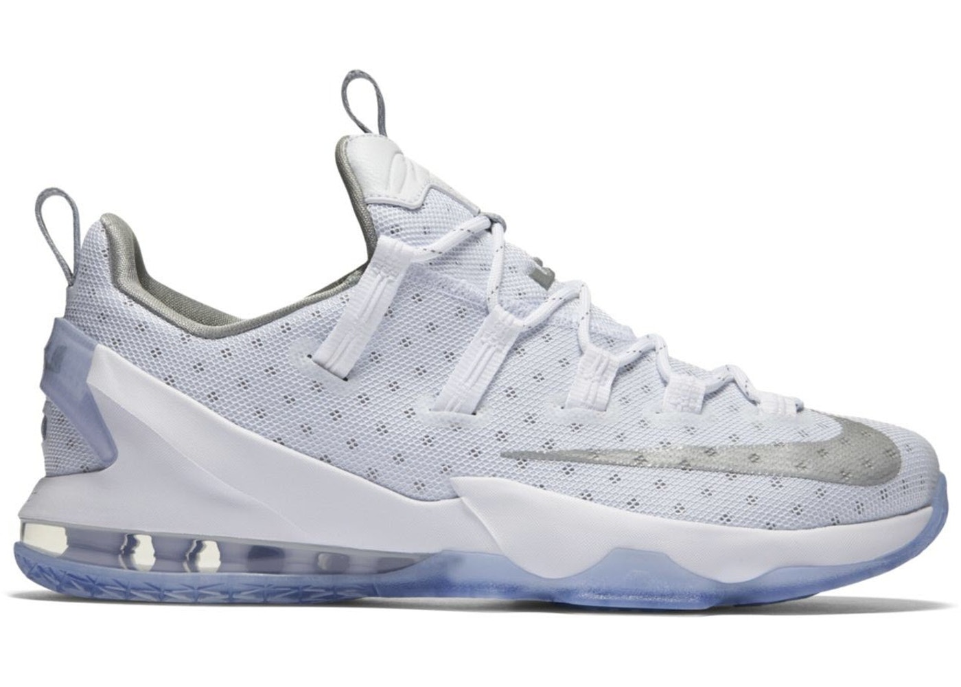 competitive price 63bd6 a6390 LeBron 13 Low Metallic Silver - 831925-100