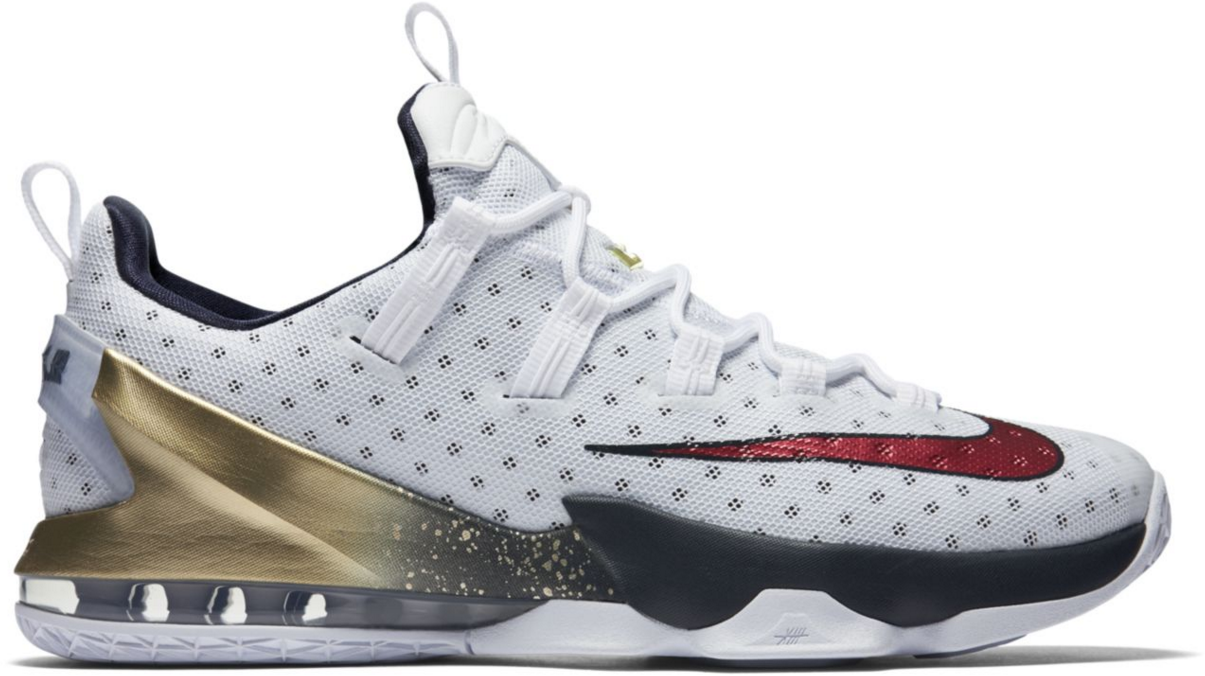 Nike LeBron 13 Low Olympic - 831925-164