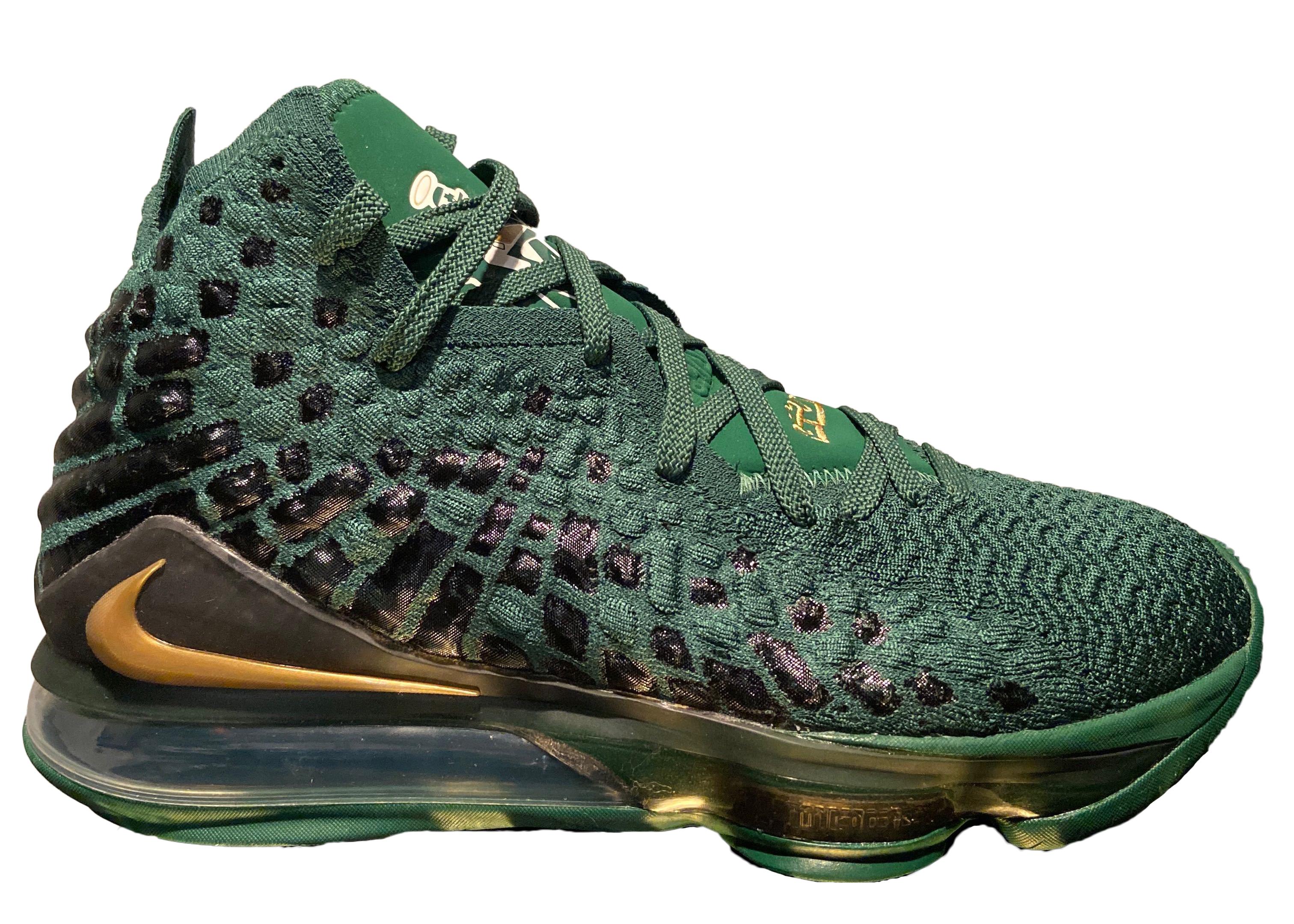 Nike LeBron 17 SVSM Green PE - BQ3177