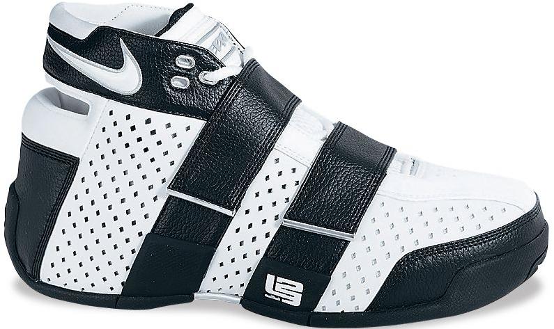 Nike LeBron 20-5-5 White Metallic Silver Black Sneakers (White-Metallic Silver-Black)