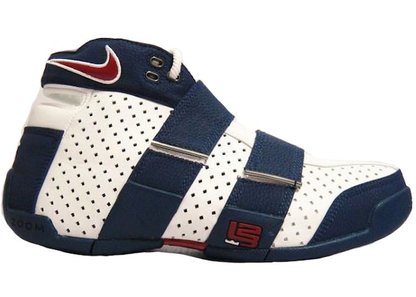 a477e8e56e5 LeBron 20-5-5 White Midnight Navy Varsity Red - 311145-161
