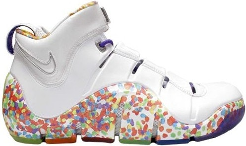 lebron 4 fruity pebbles