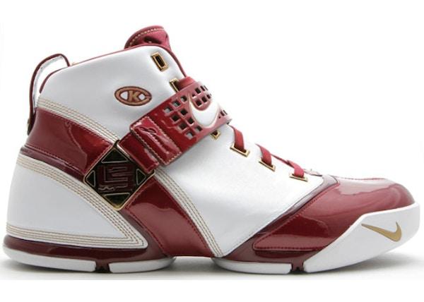 40c0d688f3d5f2 Nike LeBron 5 Shoes - Last Sale