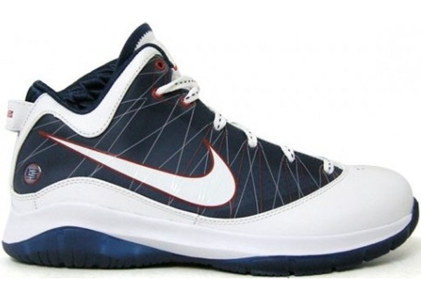 new product 36bdf 7af4f LeBron 7 PS P.S. White Navy