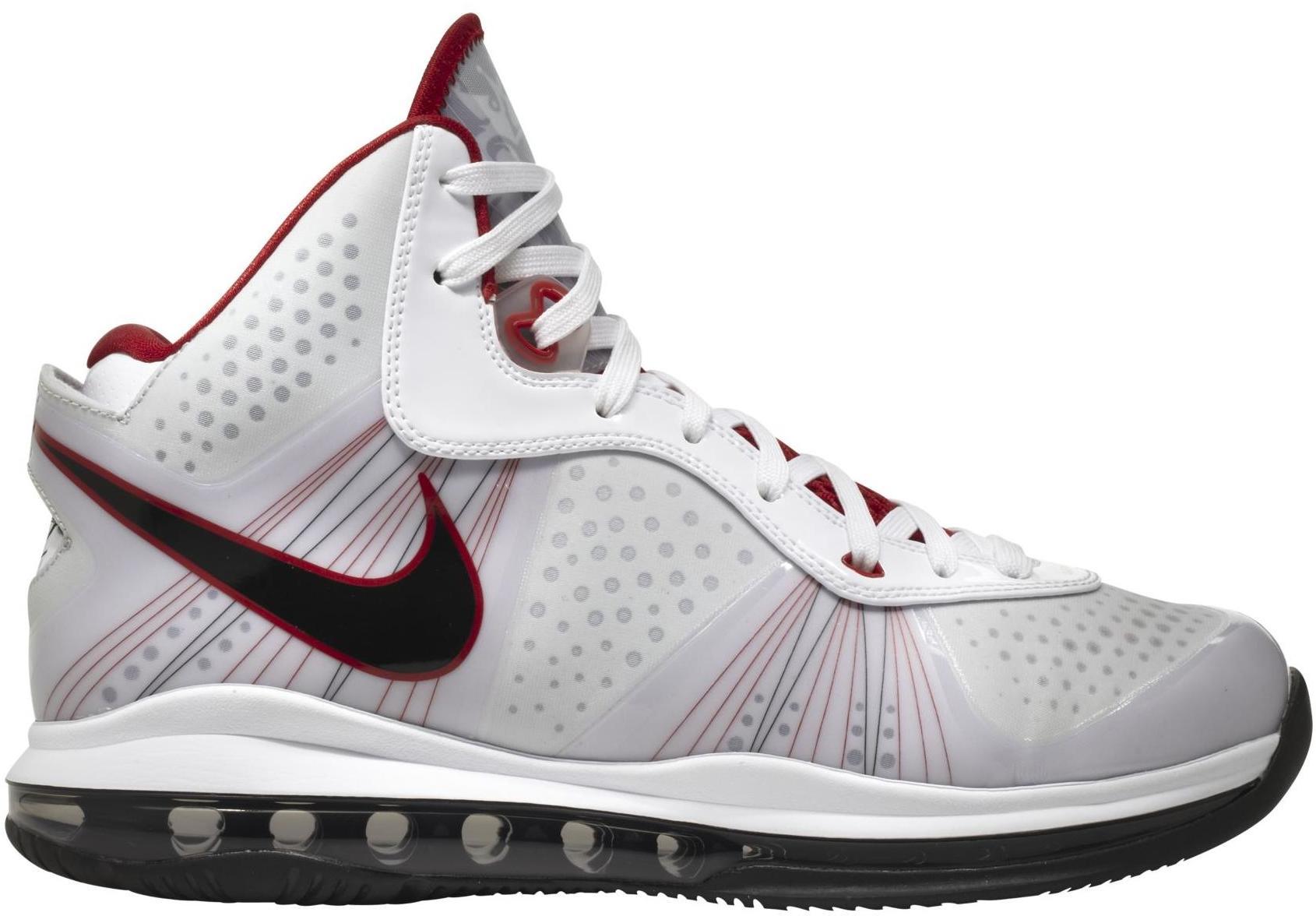 Nike LeBron 8 Home - 429676-100