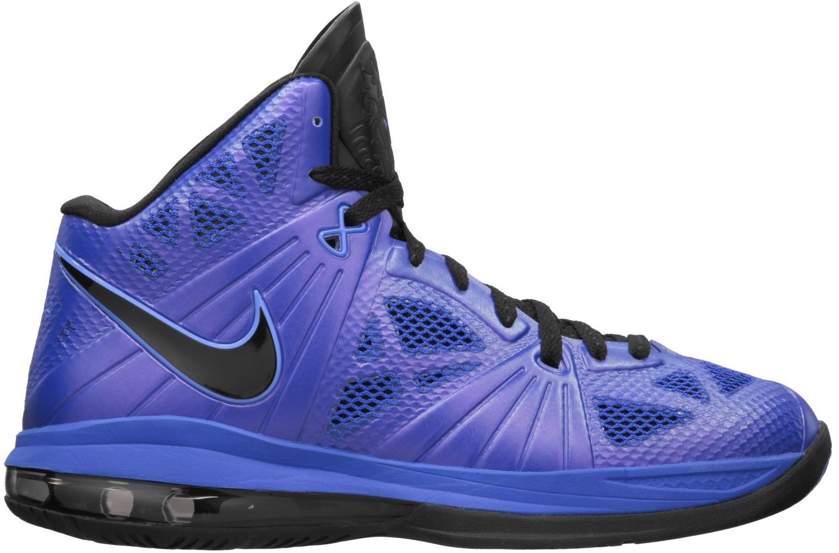 lebron 8. lebron 8 ps royal/black lebron