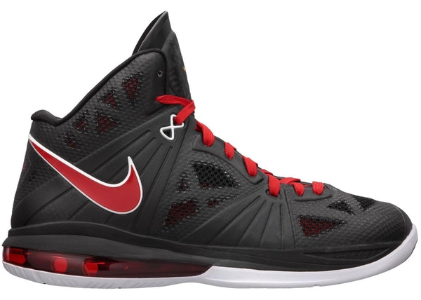 purchase cheap cfc1a a2fba LeBron 8 PS White Black Red