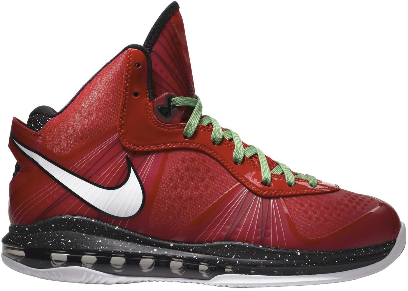 new styles 3d876 3ff6f LeBron 8 V 2 Christmas - 429676-600