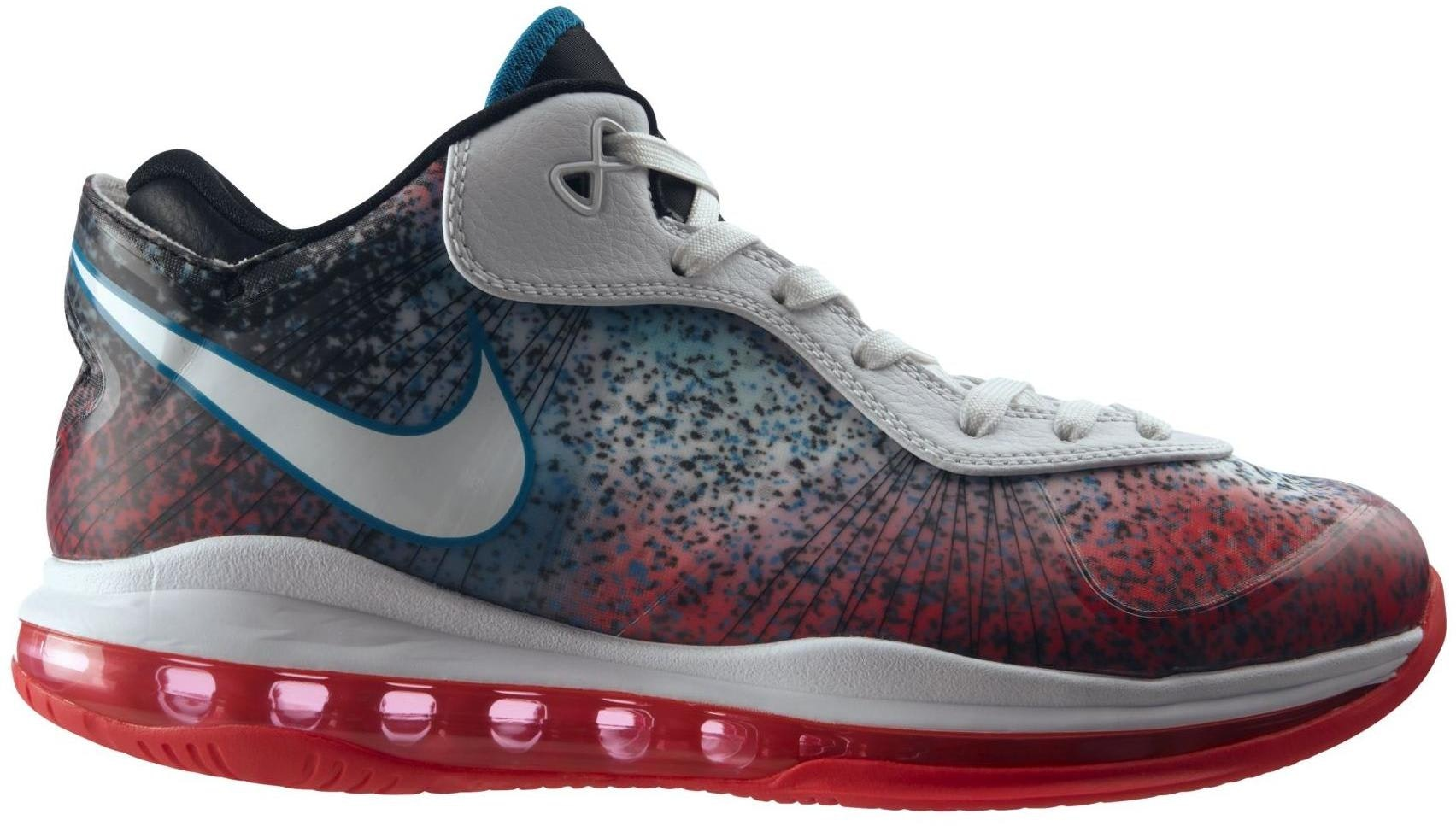 lebron 8 low. lebron 8 v/2 low miami nights lebron o