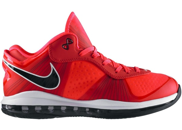 best sneakers 678d7 509d9 LeBron 8 V 2 Low Solar Red