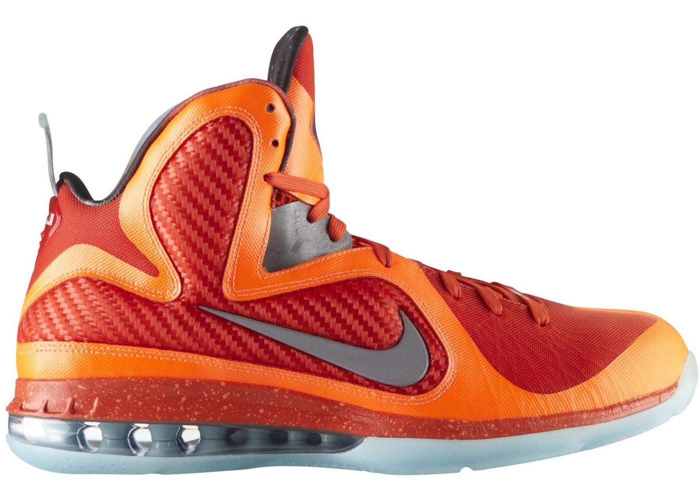 e619f0d461b Nike LeBron 9 Shoes - Average Sale Price