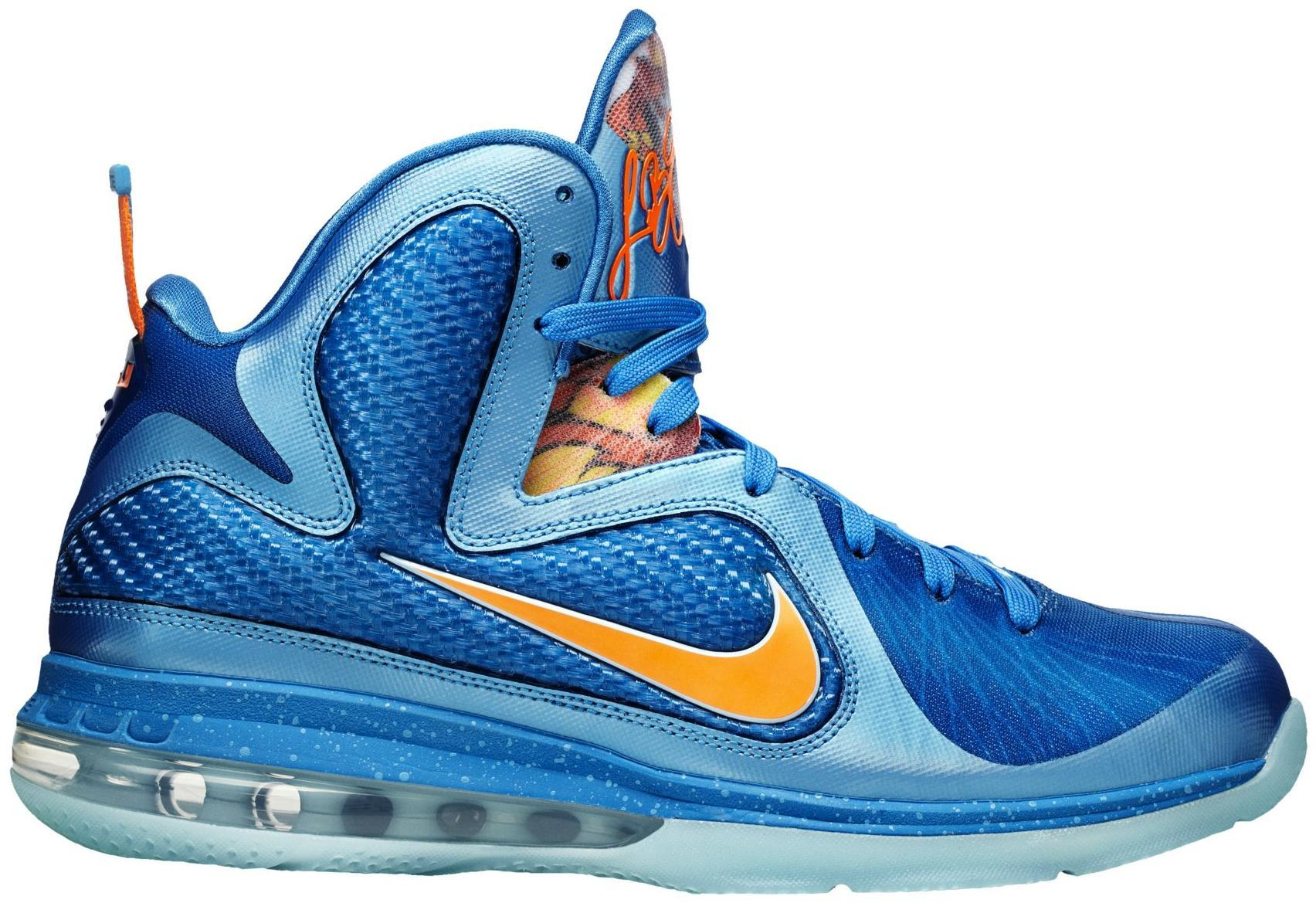 nike lebron 9 mango nike basketball shoes more than 70