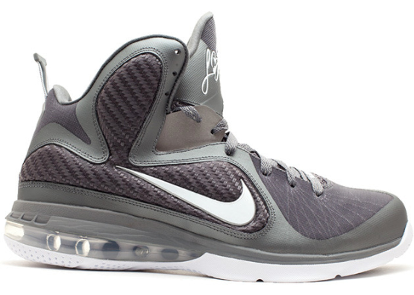 finest selection 34d1c fbf90 LeBron 9 Cool Grey