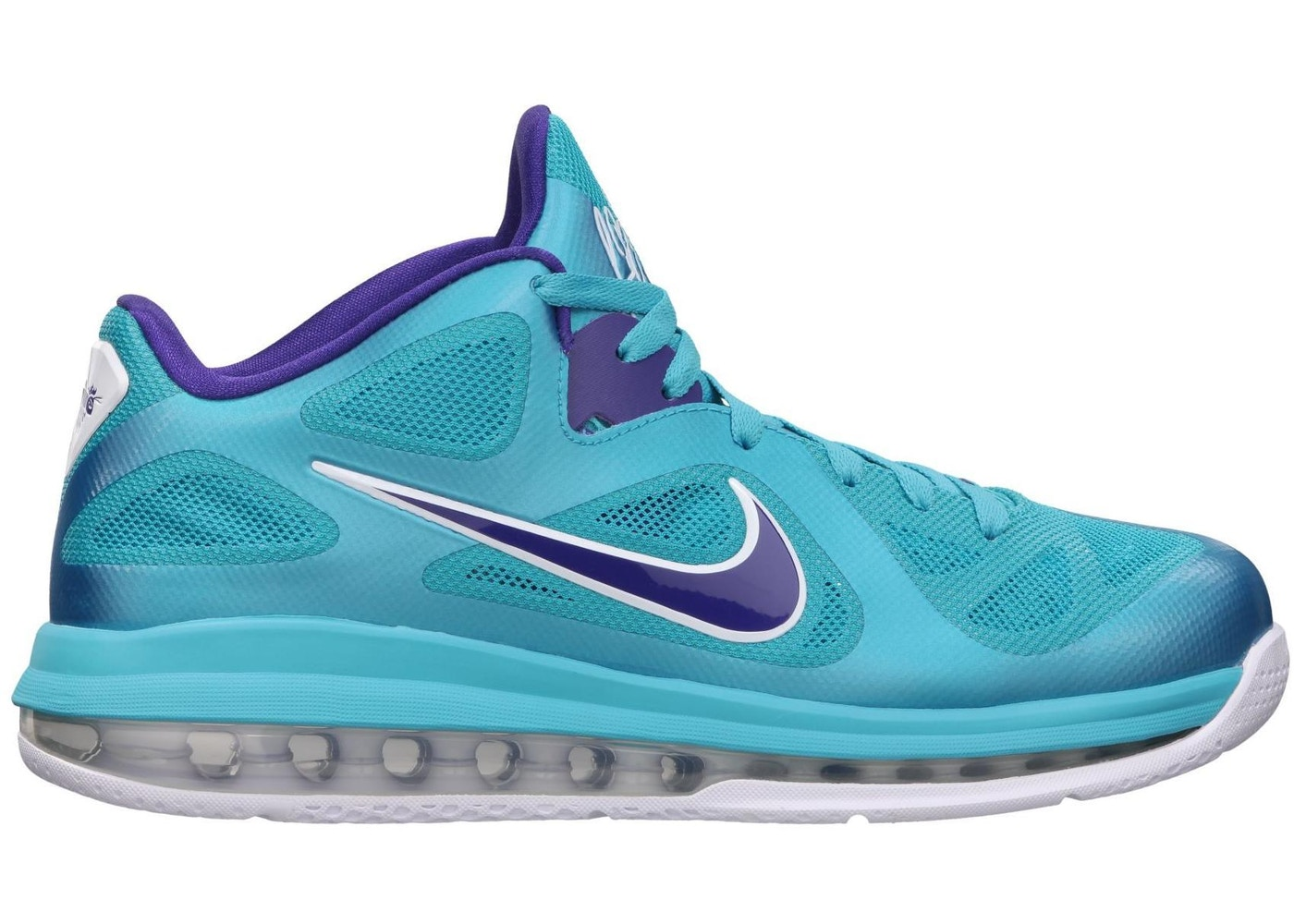 dd4391313b8b LeBron 9 Low Summit Lake Hornets - 510811-400