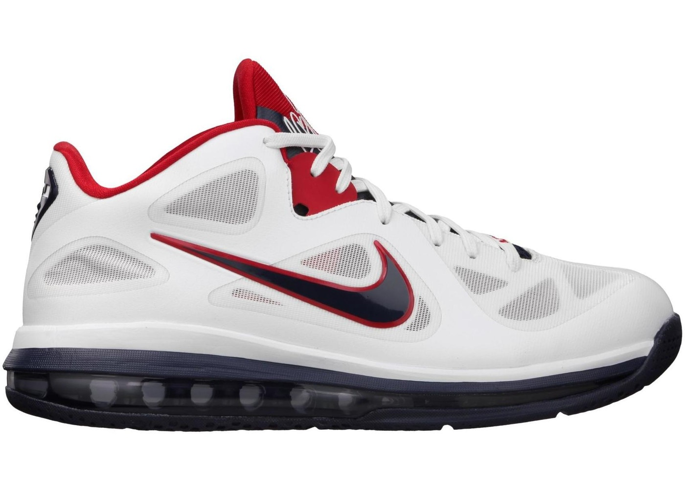 new style ba719 8c1f4 LeBron 9 Low USA Olympic