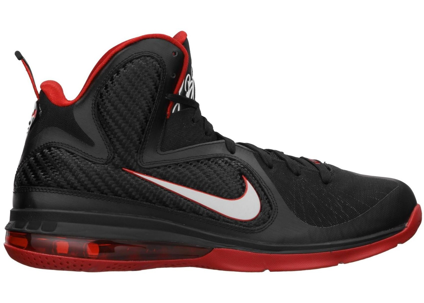 hot sales 3df2e 8a75d LeBron 9 Miami Heat Away