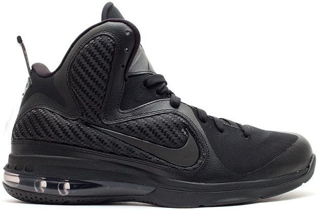 Nike LeBron 9 Triple Black - 469764-001
