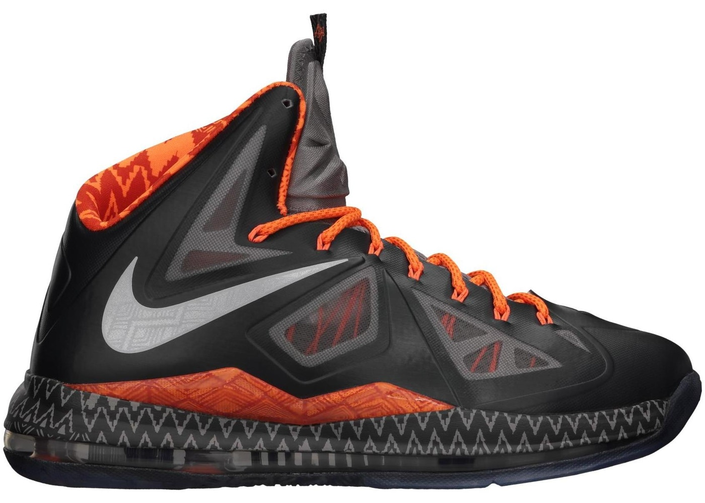 dividend Mammoth Got ready  Nike LeBron X Black History Month - 583109-001